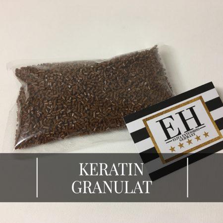 Keratin Granulat für Bondings - Braun
