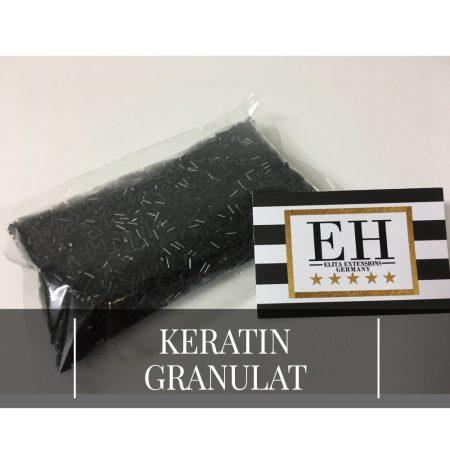 Keratin Granulat für Bondings - Schwarz