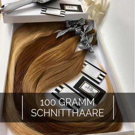 Schnitthaare Echthaar 100gramm - (40cm – 100cm)